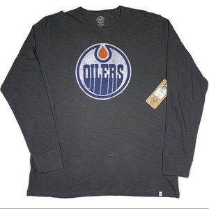 Forty Seven Brand Oilers Long Sleeve Mens Tee